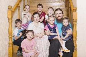 Обычная русская семья, которая может рассчитывать на льготы