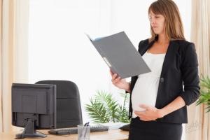 Дата выхода в декрет зависит от протекания беременности