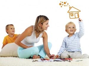 """На средства материнского капитала можно купить дом """"под ключ"""""""