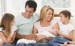 Семья с тремя детьми считается многодетной