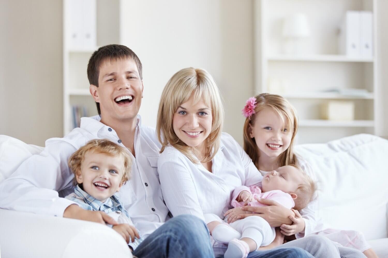 Узнайте, что положено многодетным семьям