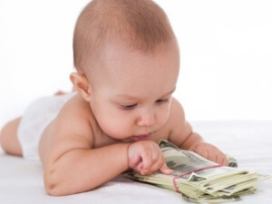 Выплаты при рождении первого ребенка