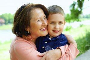 В отпуске по уходу бабушка получает 40% зарплаты