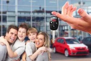 Денежная поддержка на покупку семейного автомобиля